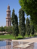 Блог Павла Аксенова. Мечеть Султана Кабуса. Sultan Qaboos Grand Mosque in Muscat, Oman. Фото darezare - Depositphotos