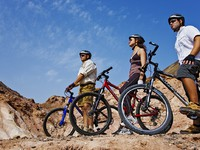 Блог Павла Аксенова. ОАЭ. Абу-Даби. О. Сир-Бани-Яс. Sir Bani Yas. Mountain biking