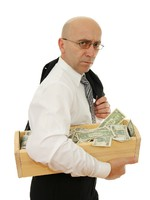 Man with money. Фото Jolanta Dabrowska - Depositphotos