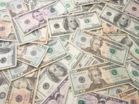 Stacks of Unites States Money Background. Фото Andy Dean - Depositphotos