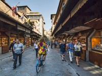 Блог Павла Акенова. Италия. Флоренция. Старый мост. Ponte vecchio. Фото Wallace Weeks - Depositphotos