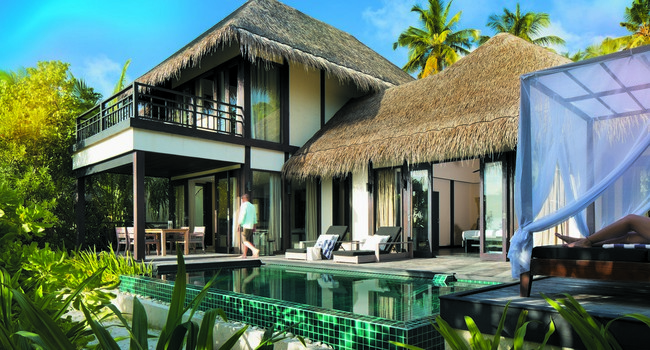 Блог Павла Аксенова. Мальдивы. Outrigger Konotta Maldives Resort. Two Bedroom Beach Pool Villa