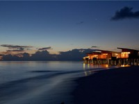 Клуб Павла Аксенова. Мальдивы. Park Hyatt Maldives Hadahaa. Park Water Villa. After sunset