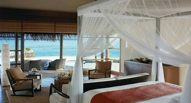 Мальдивы. Four Seasons Resort Maldives at Kuda Huraa. Royal beach villa 2-bedroom
