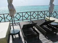 Мальдивы. Four Seasons Resort Maldives at Kuda Huraa. Water suite. Фото Павла Аксенова