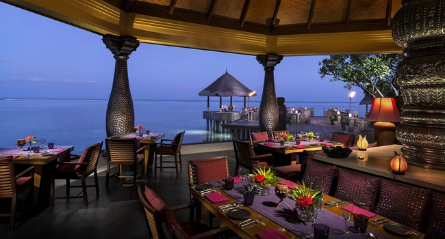 Мальдивы. Four Seasons Resort Maldives at Kuda Huraa. Baraabaru