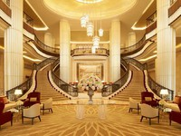 The St. Regis Abu Dhabi  - Reception Hall - Grand Staircase