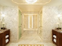 The St. Regis Abu Dhabi - Ladies Restroom