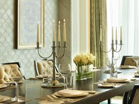 The St. Regis Abu Dhabi. Al Manhal Suite - Dining Table