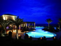 Клуб путешествий Павла Аксенова. Desert Islands Resort & Spa by Anantara. Swimming_pool_at_night