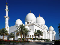 Клуб путешествий Павла Аксенова. ОАЭ. Абу-Даби. Мечеть шейха Зайда. Sheikh Zayed Mosque. Фото Sophie_James - Depositphotos