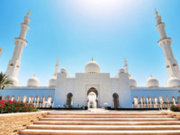 Клуб путешествий Павла Аксенова. ОАЭ. Абу-Даби. Мечеть шейха Зайда. Sheikh Zayed Mosque. Фото FineShine - Depositphotos