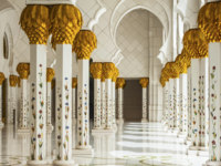 Клуб путешествий Павла Аксенова. ОАЭ. Абу-Даби. Мечеть шейха Зайда. Sheikh Zayed Mosque. Фото Cristian Zamfir - shutterstock