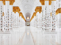 Клуб путешествий Павла Аксенова. ОАЭ. Абу-Даби. Мечеть шейха Зайда. Sheikh Zayed Mosque. Фото Vladimir Melnik - shutterstock