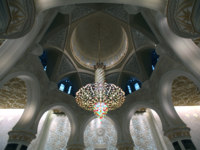 Клуб путешествий Павла Аксенова. ОАЭ. Абу-Даби. Мечеть шейха Зайда. Sheikh Zayed Mosque. Фото Thamer Altassan - shutterstock
