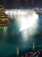 ОАЭ. Дубай. Dubai Fountains. Фото Engin Korkmaz - Depositphotos