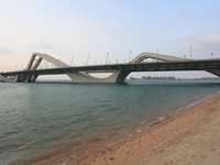 ОАЭ. Абу-Даби. Sheikh Zayed Bridge in Abu Dhabi. Фото philipus - Depositphotos