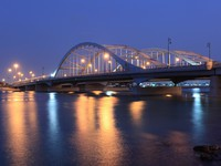 ОАЭ. Абу-Даби. Al Maqtaa bridge in Abu Dhabi. Фото philipus - Depositphotos