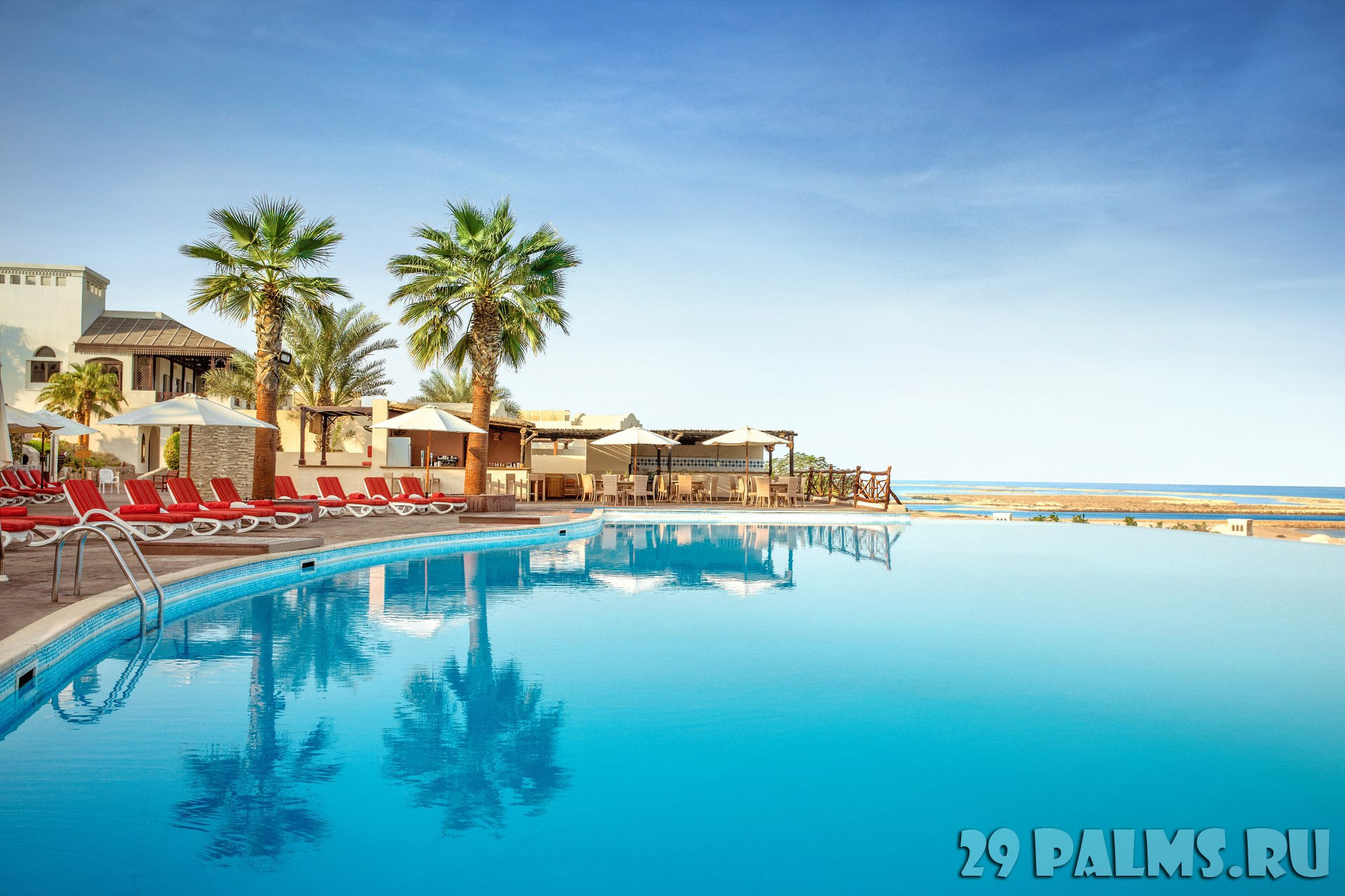 Клуб путешествий Павла Аксенова. ОАЭ. Рас-эль-Хайма. The Cove Rotana Resort Ras Al Khaimah. Sunset Pool