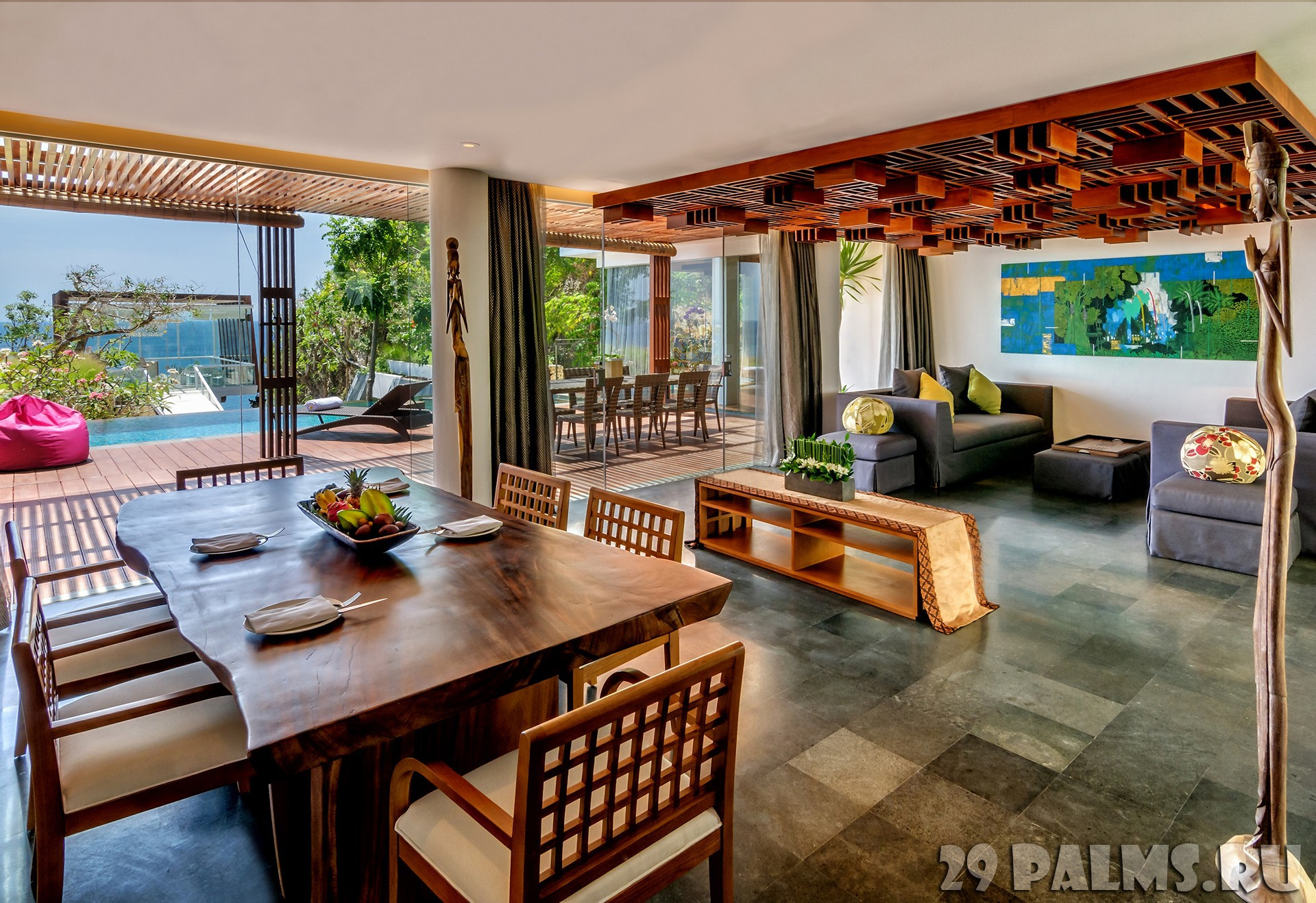 Bali villa 6 bedroom