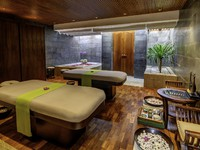 Блог Павла Аксенова. Индонезия. О.Бали. Anantara Bali Uluwatu Resort & Spa. Spa Couple Treatment Room