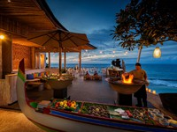 Блог Павла Аксенова. Индонезия. О.Бали. Anantara Bali Uluwatu Resort & Spa. Sunset BBQ