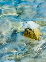 Иордания. Мертвое море. Stones on the bank of the Dead Sea. Фото Vitaly Suprun - Depositphotos