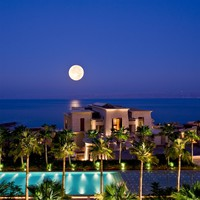 Иордания. Мертвое море. Kempinski Hotel Ishtar Dead Sea. Ishtar Gate at Night