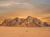 Иордания. 	The great view of Vadi Ram in Jordan - Depositphotos