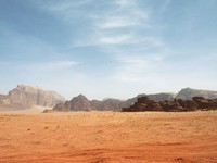 Иордания. 	Colorful view of desert in Wadi Rum, Jordan - Depositphotos