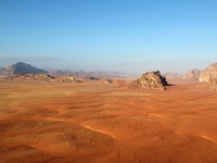 Иордания. Wadi Rum Desert beautiful landscape from above. Jordan. CarlosNeto - Depositphotos