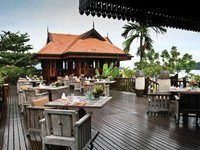 Клуб путешествий Павла Аксенова. Малайзия. Лангкави. Four Seasons Resort Langkawi. Ikan Ikan restaurant terrace