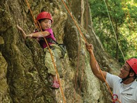 Клуб путешествий Павла Аксенова. Малайзия. Лангкави. Four Seasons Resort Langkawi. Rock Climbing for Kids