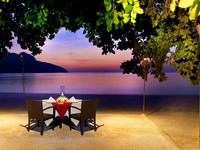 Клуб путешествий Павла Аксенова. Малайзия. Лангкави. The Andaman Langkawi. Romantic dinner on the beach