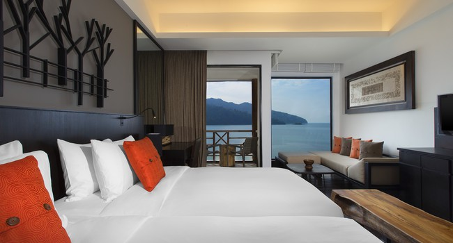 Клуб путешествий Павла Аксенова. Малайзия. Лангкави. The Andaman Langkawi. Luxury Sea view Room