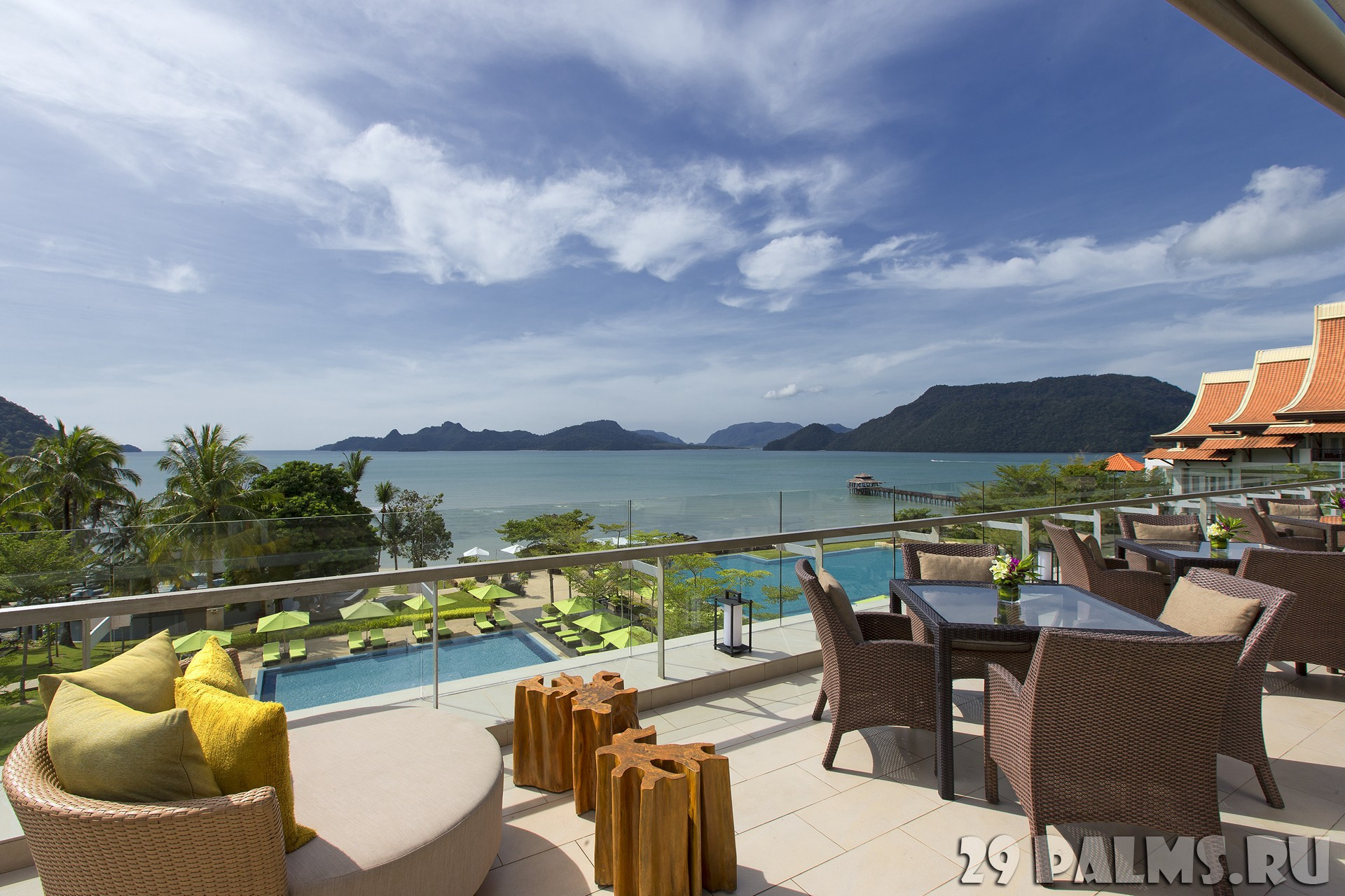 Клуб путешествий Павла Аксенова. Малайзия. О. Лангкави. The Westin Langkawi. Breeze Lounge
