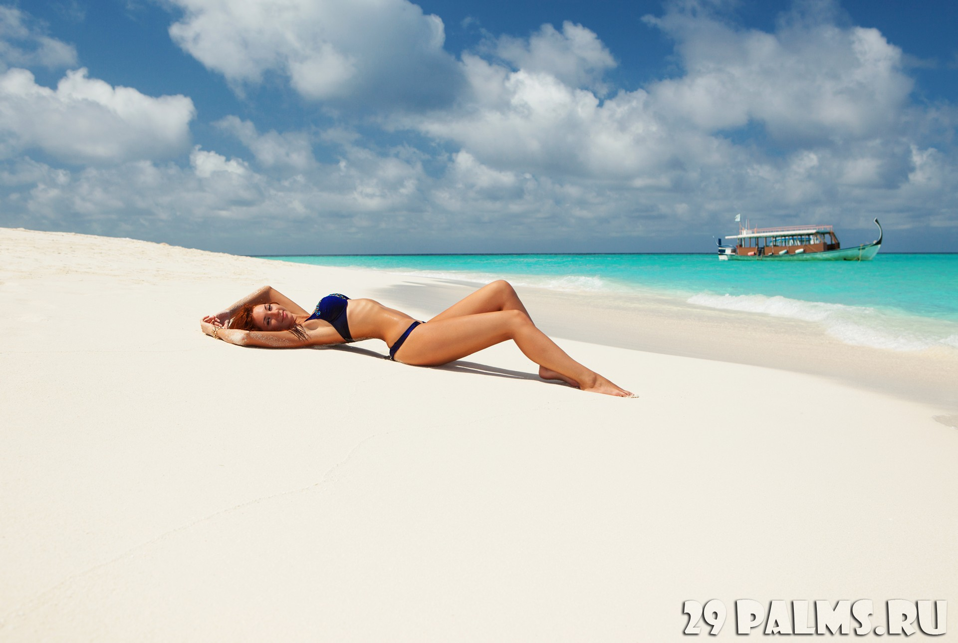 Пляжи мальдивы фото девушки
