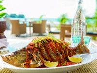 Клуб путешествий Павла Аксенова. Jumeirah Vittaveli - Samsara - Pla Rad Prik Deep Fried Whole Snapper
