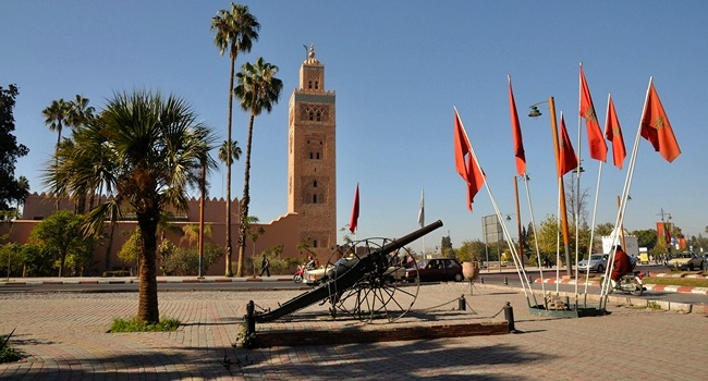 Клуб путешествий Павла Аксенова. Марокко. Марракеш (Marrakesh). Morocco. Koutoubia Mosque in Marrakech. Фото Philip Lange - Depositphotos