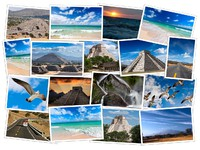 Mexico photos collage. Фото Dmitry Rukhlenko - Depositphotos