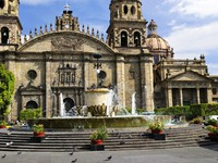 Cathedral in historic center in Guadalajara, Jalisco, Mexico. Фото Elena Elisseeva - Depositphotos