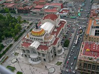 Mexico city, a view from tower latinoamericana. Фото Maurizio Biso - Depositphotos
