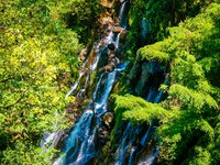 Mountain water fall in Mexico. Фото Anton Ivanov - Depositphotos