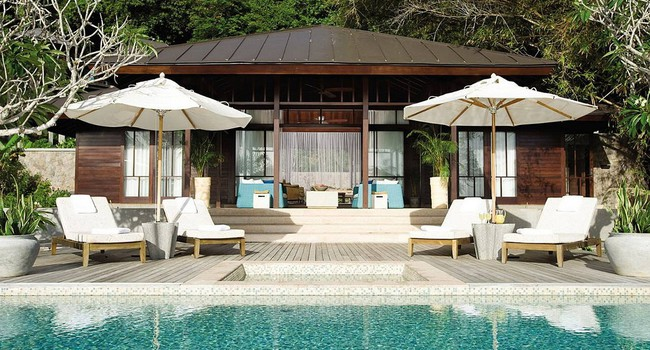 Сейшелы. О.Маэ. Four Seasons Resort Seychelles. Two-Bedroom Presidential Suite
