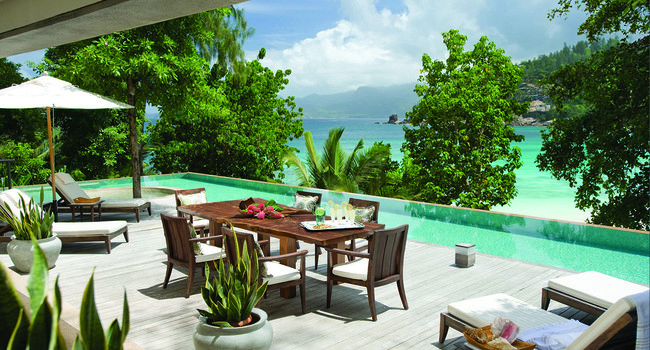 Сейшелы. О.Маэ. Four Seasons Resort Seychelles. Three-Bedroom Beach Suite Terrace