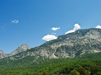 Taurus mountain chain in Turkey. Фото Andrei Mannik - Depositphotos