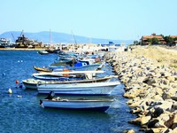 Karaburun town near izmir from Turkey. Фото Cenker Atila - Depositphotos