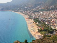 View of the coastline in Alanya. Фото Diana Valujeva - Depositphotos_12130206