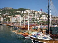 Port In Alanya, Turkey. Фото Tatyana Kramarevskaya - Depositphotos_4765758