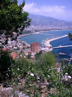 Panorama of Alanya city in Turkey. Фото Tomas Marek - Depositphotos_2145041
